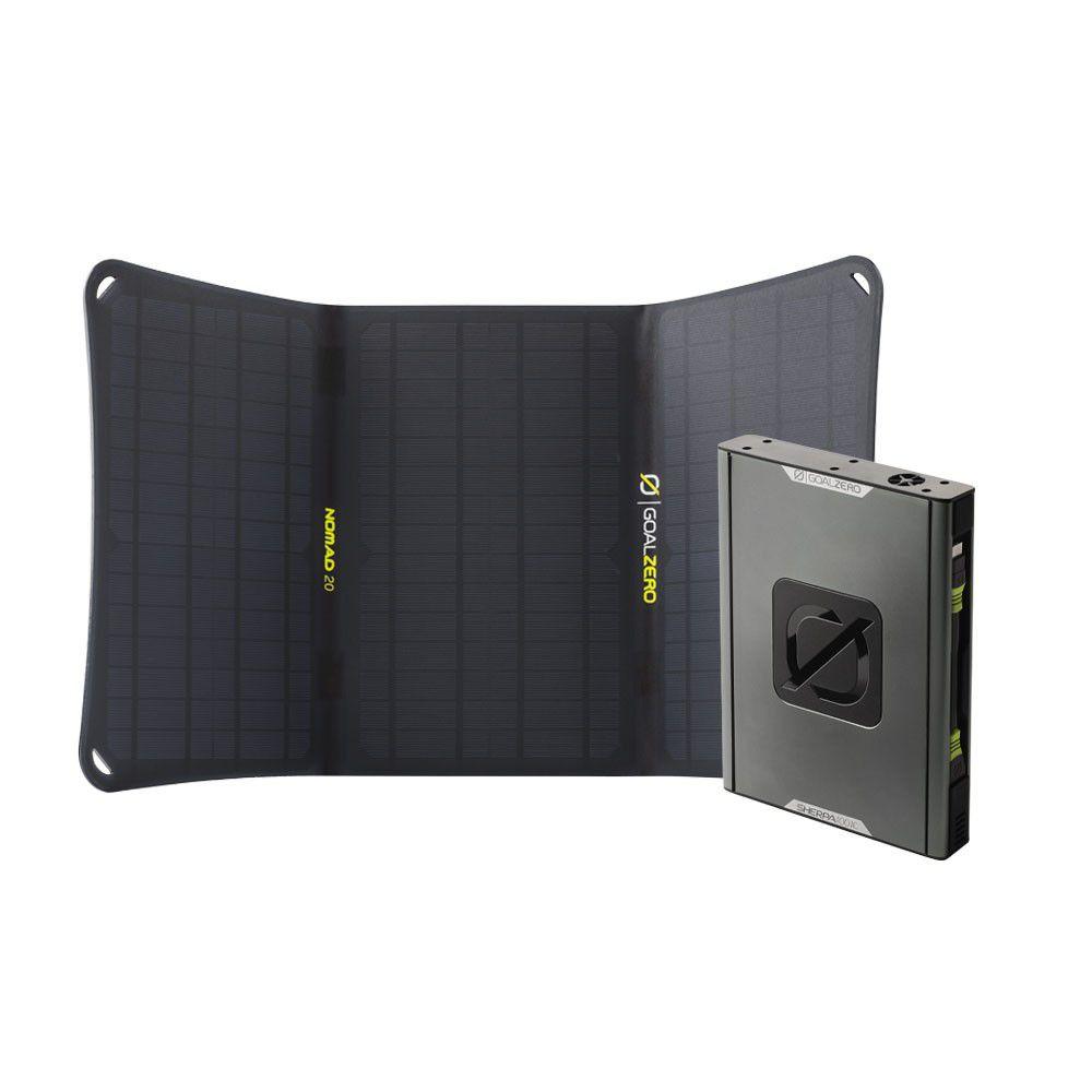 Goal Zero Sherpa 100AC + Nomad 20 Solar Kit