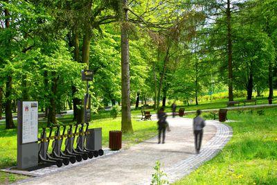 Swiftmile in park