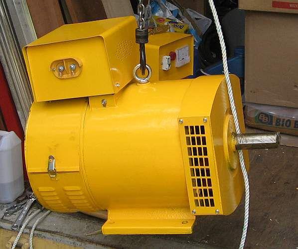 Microhydro photos yellow