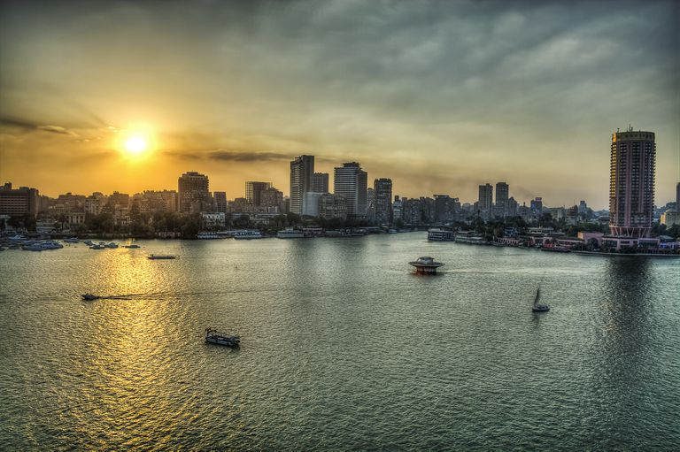 The Nile River in Africa