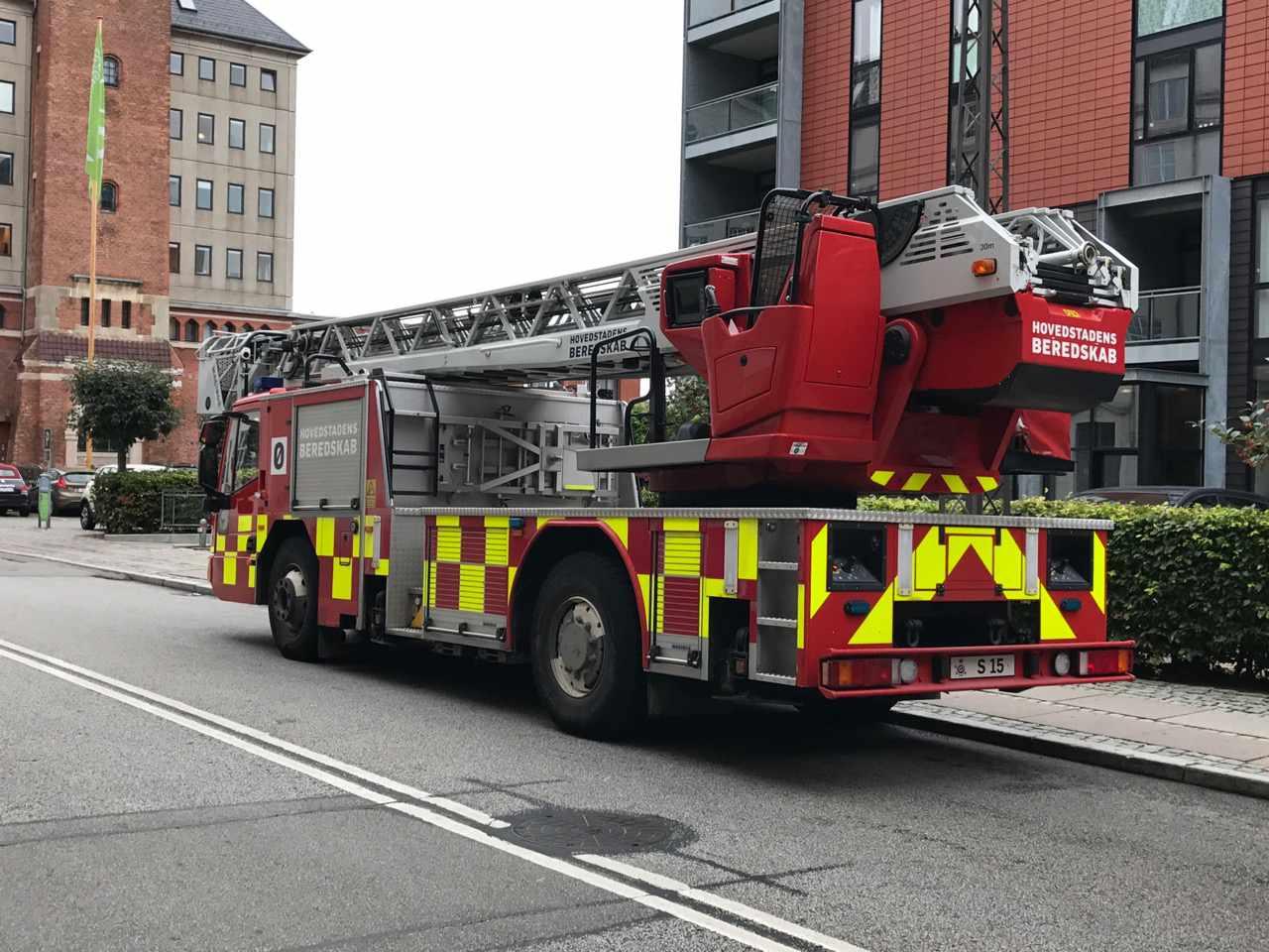 Danish ladder truck