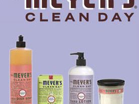 Product Review Mrs Meyer S Clean Day