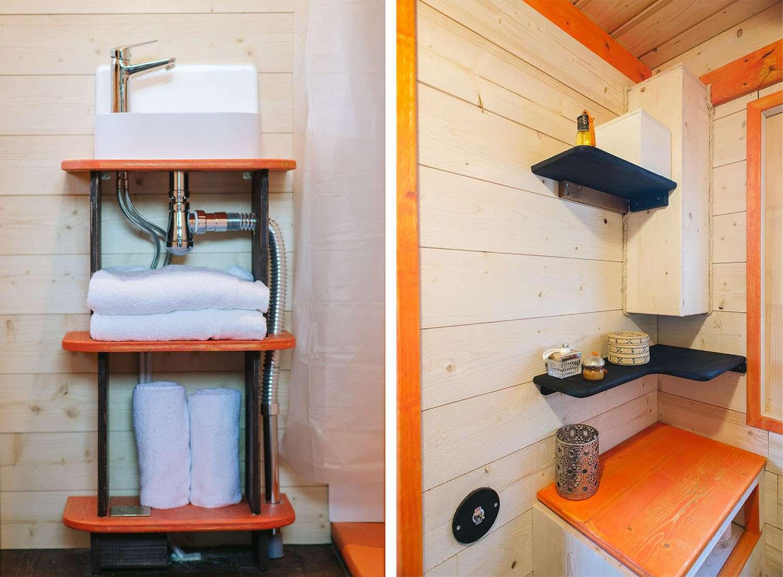 idle tiny house bathroom
