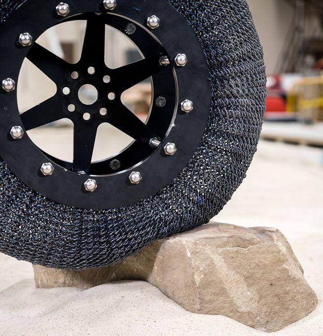 La NASA reinventa la rueda usando cota de malla
