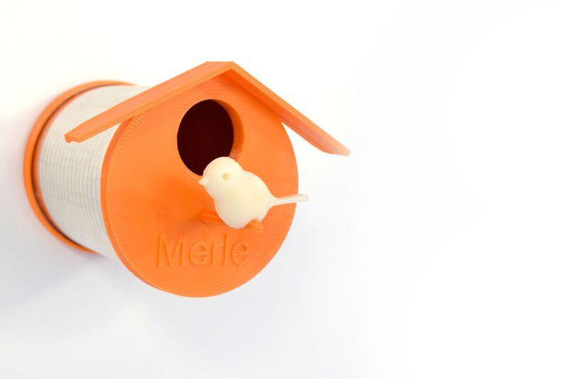 3D Printable Birdhouse