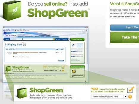 shop green carbon offset program image