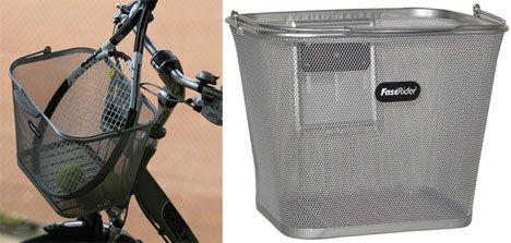 Fast Rider Metal Mesh Basket photo