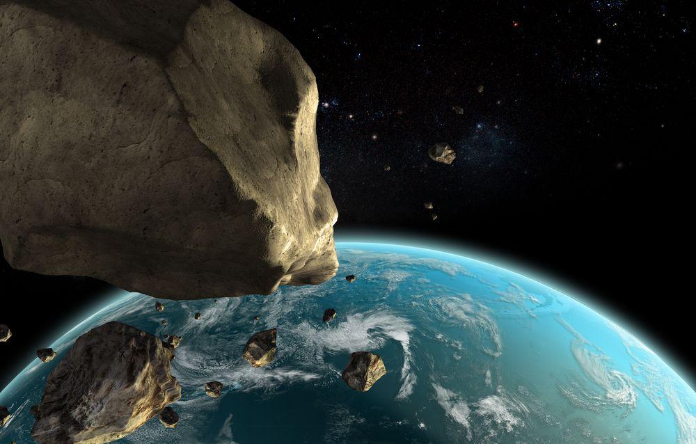 Space rocks near the Earth