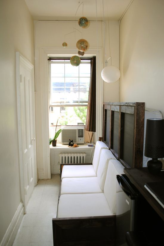 Luke Clark Tyler small Manhattan apartment