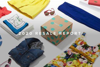 thredUP resale report for 2020