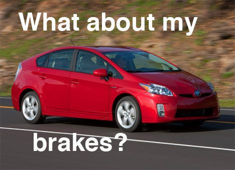 toyota prius brake problem photo