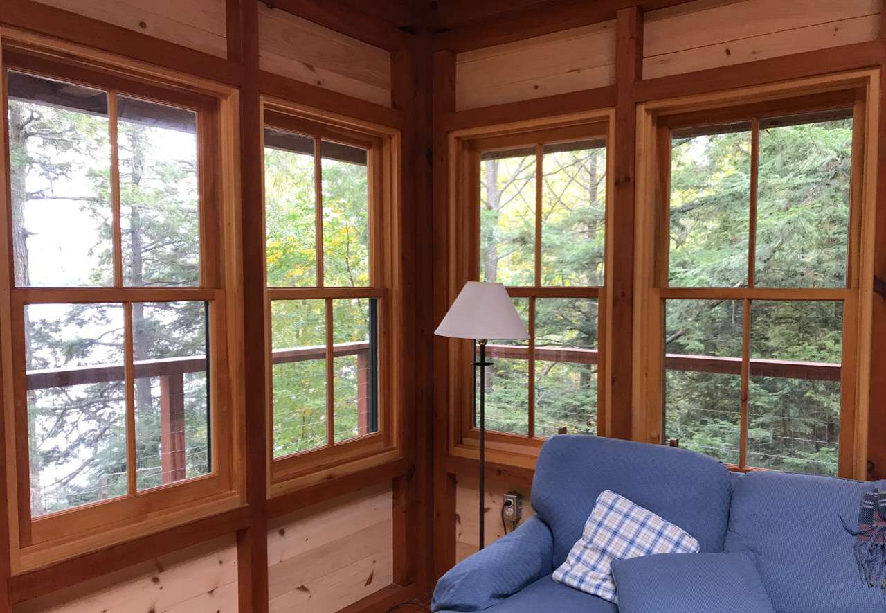 hand made windows by Brad Johnson