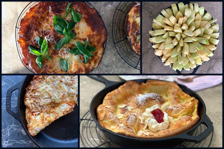 14 alimentos para cocinar en una sartén de hierro fundido