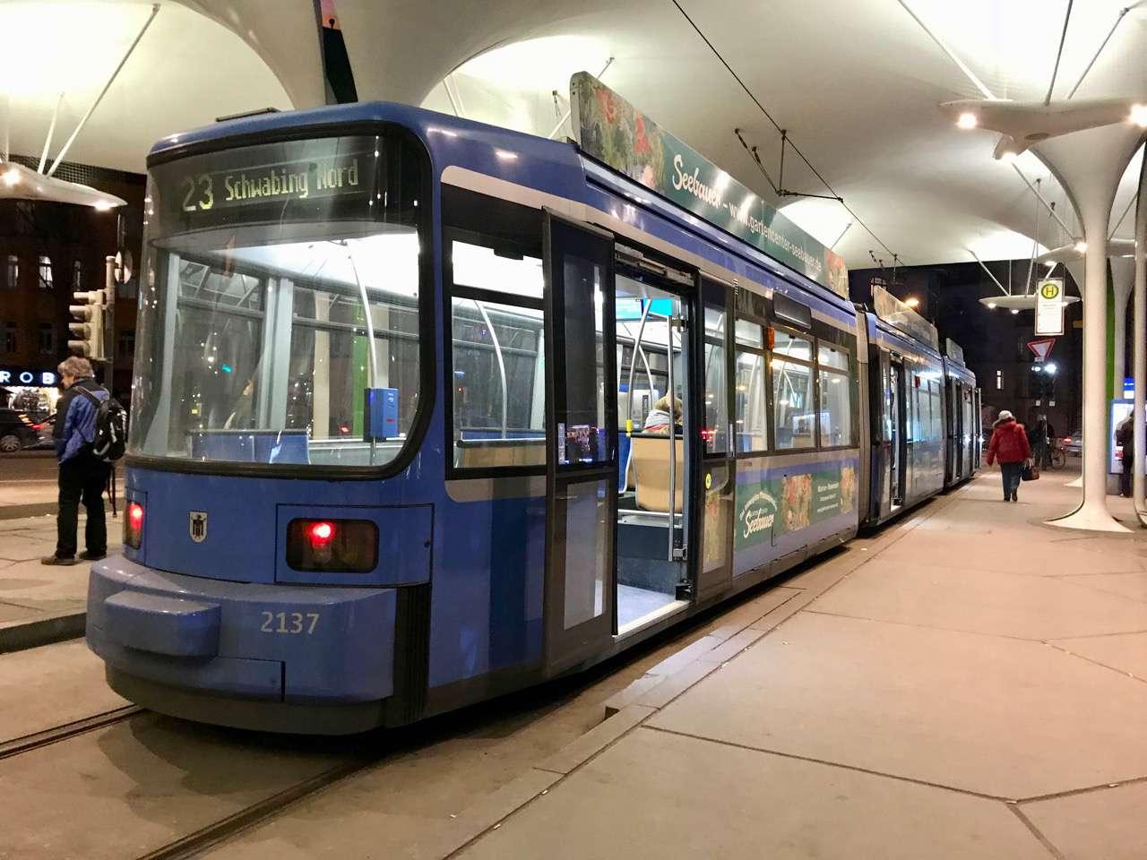 streetcar in Munich