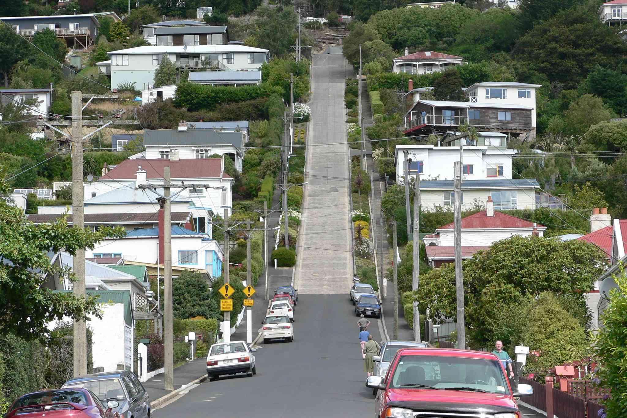 Baldwin Street in Dunedin, New Zealand