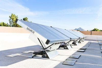 Zero Mass Water, renewable drinking water panels using sunlight