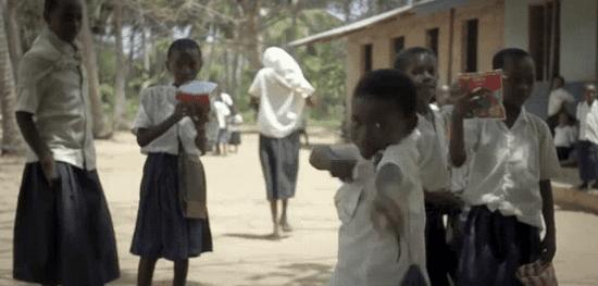 solar african kids photo