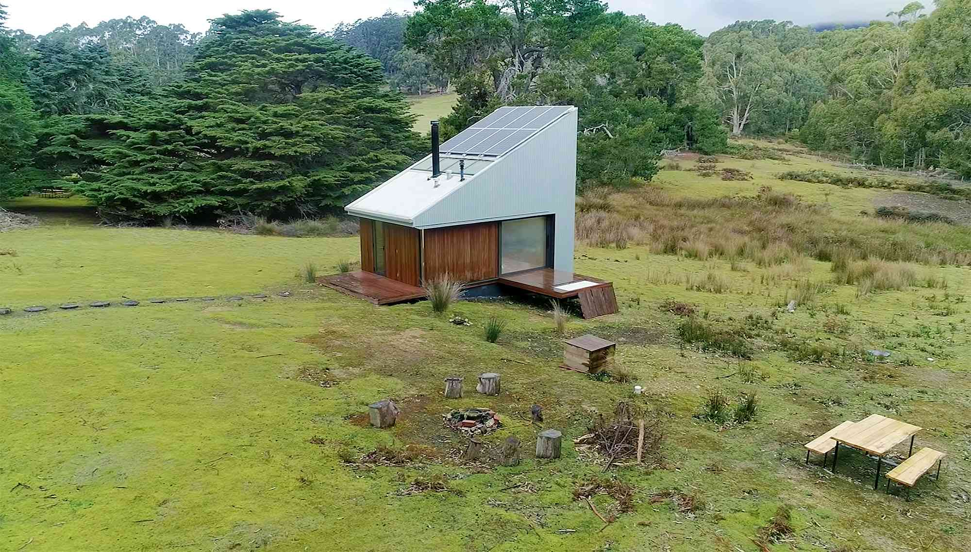 Bruny Island Hideaway by Maguire + Devin exterior