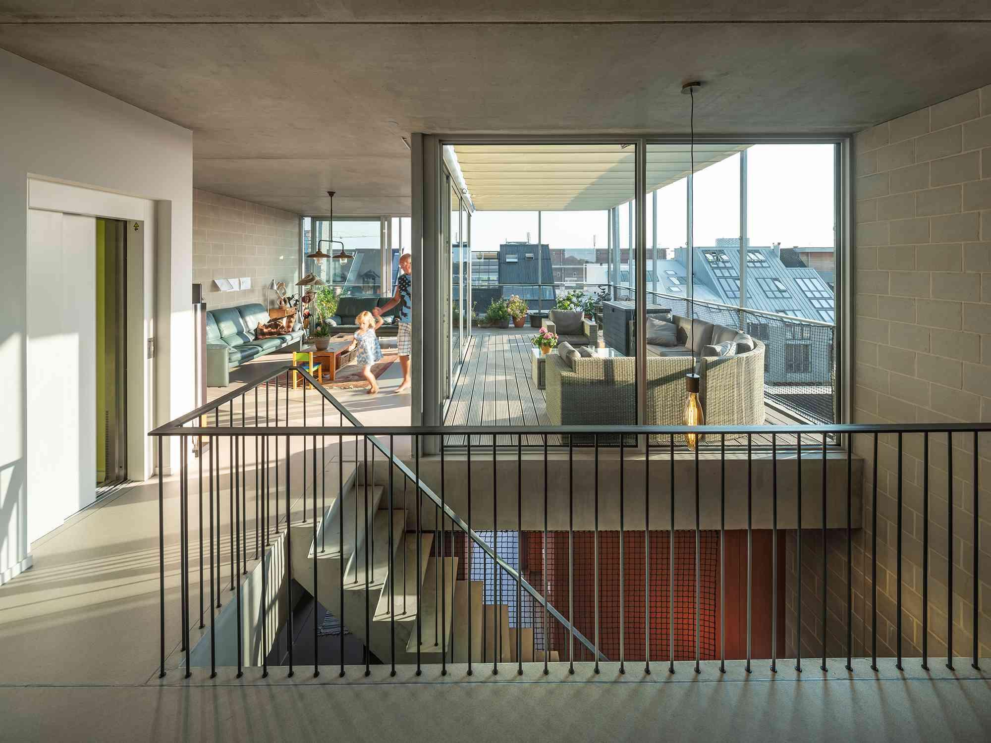 Three Generation House by BETA grandparents apartment