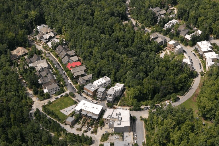 Aerial view of Serenbe, 2013