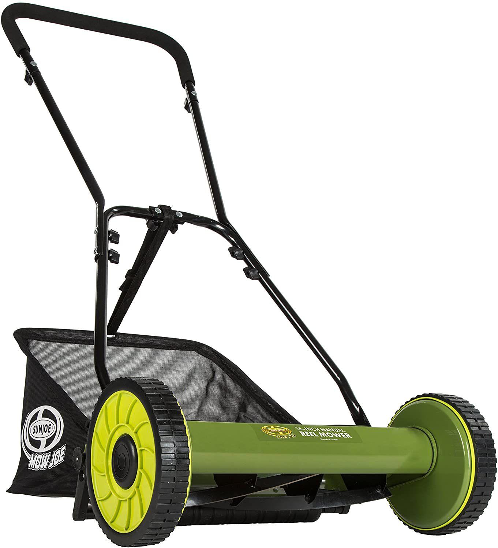 Sun Joe MJ500M Manual Reel Mower w/ Grass Catcher