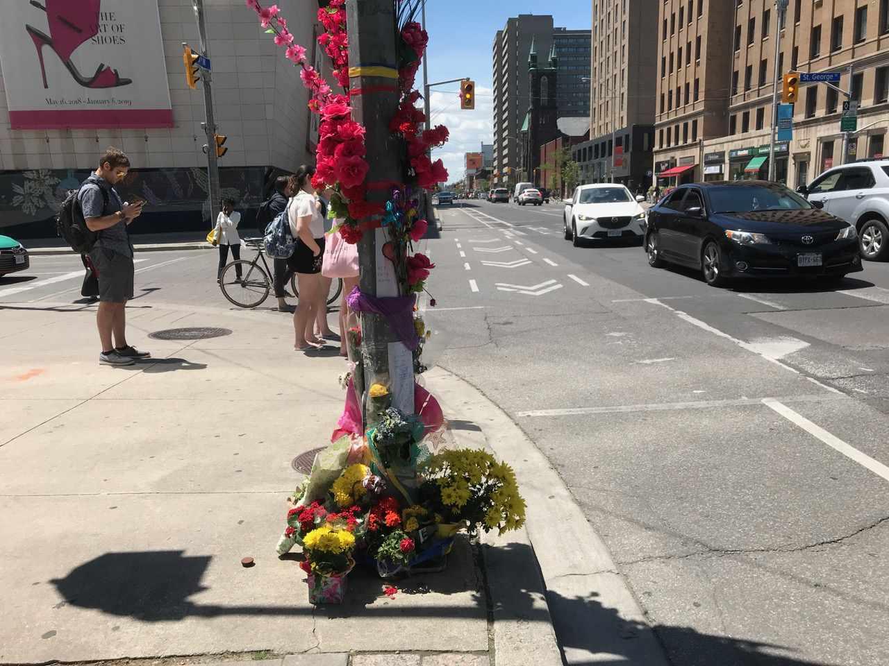 bloor street crash