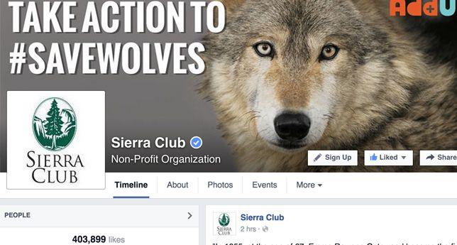 Sierra Club on Facebook