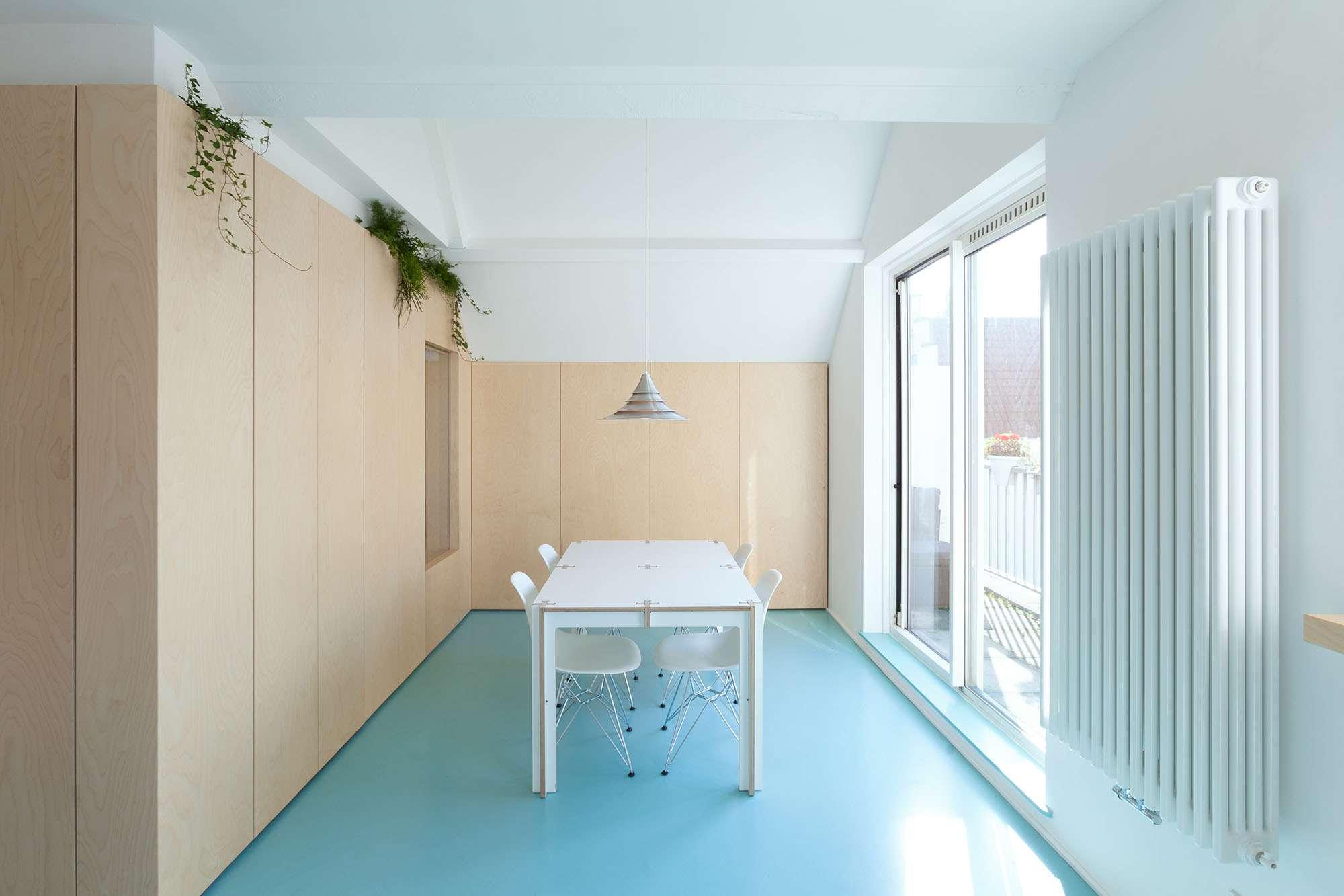 Amsterdam Urban Loft by Bureau Fraai dining room
