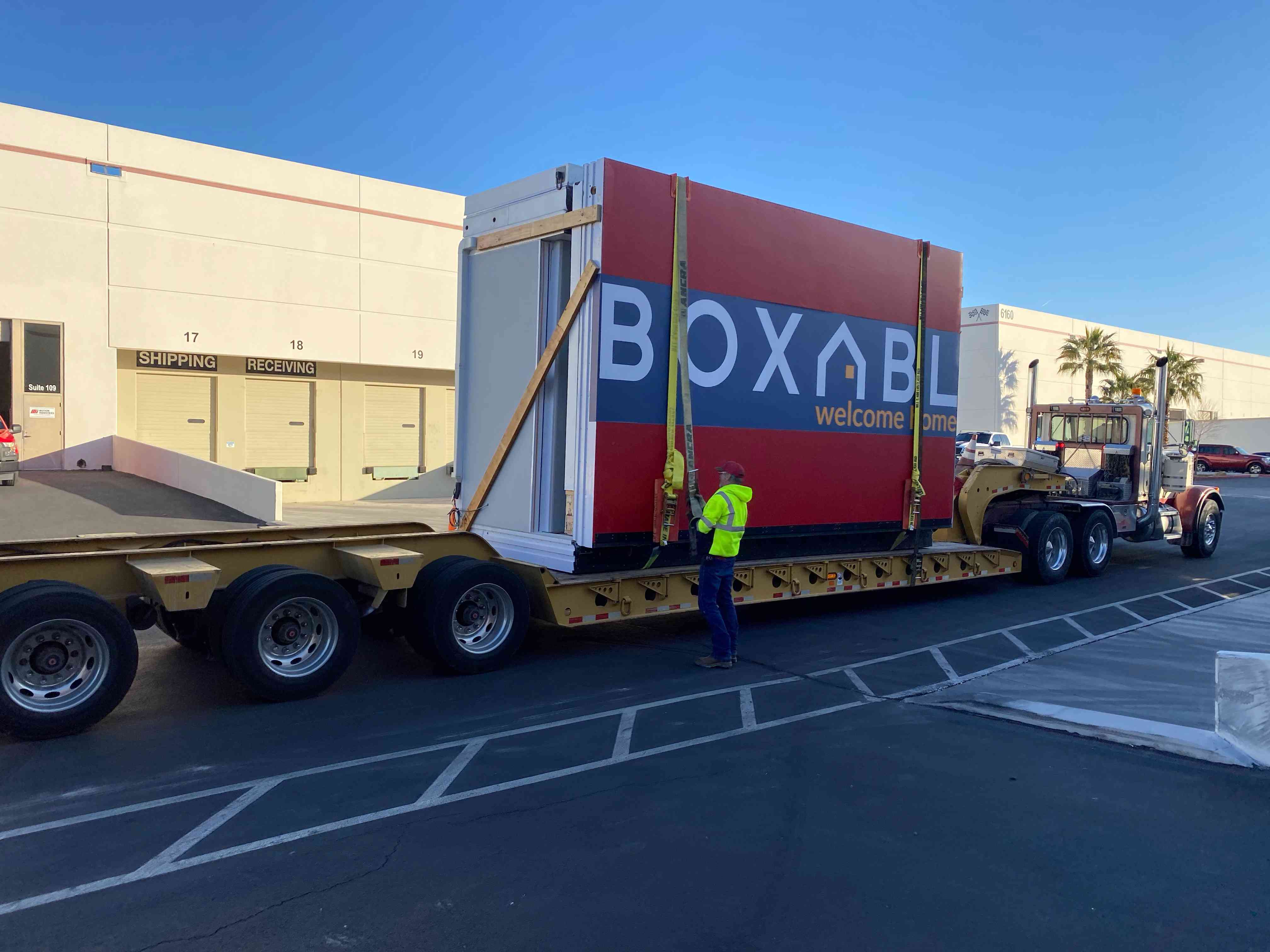 Boxable on a truck