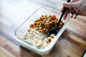 chickpea stew and rice