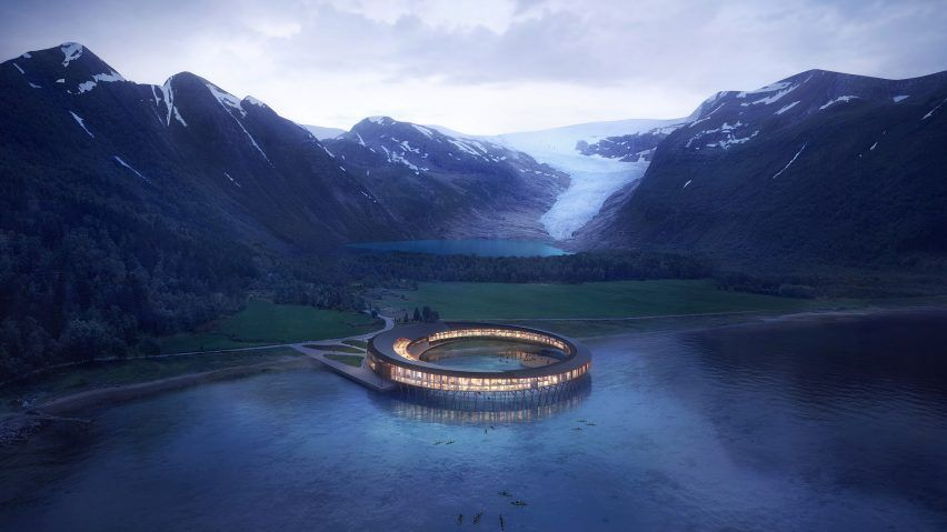 This Stunning Arctic Hotel Will Produce More Energy Than It Consumes