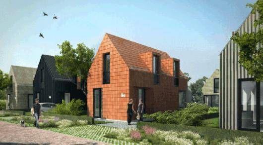 Casas de inicio autoconstruidas y sin sorpresas ofrecidas a propietarios holandeses novatos