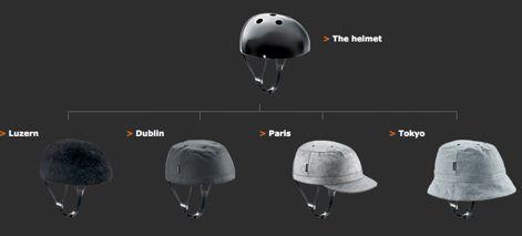 Five Yakkay Helmets photo