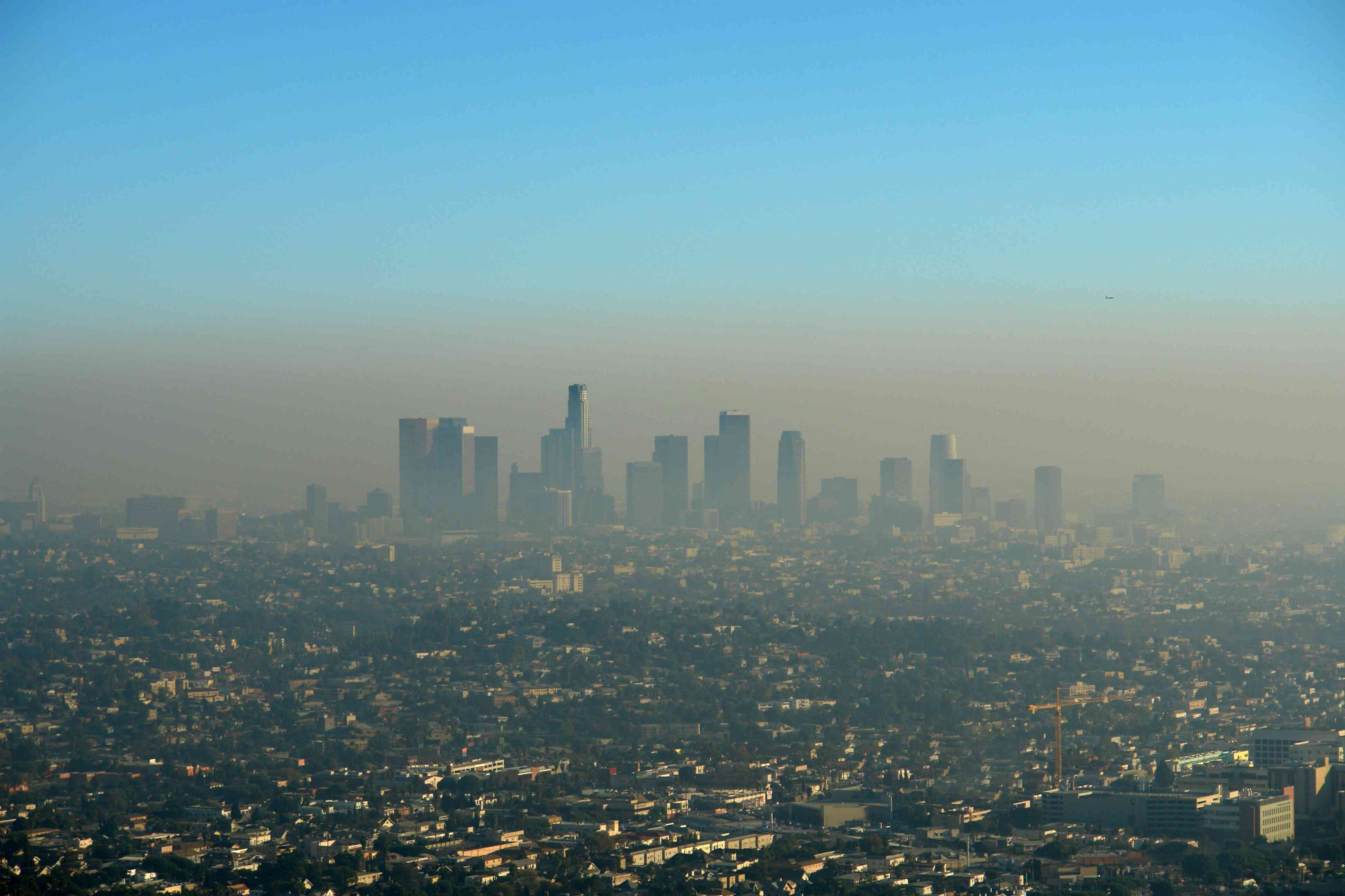 Brown Layer of Los Angeles Smog