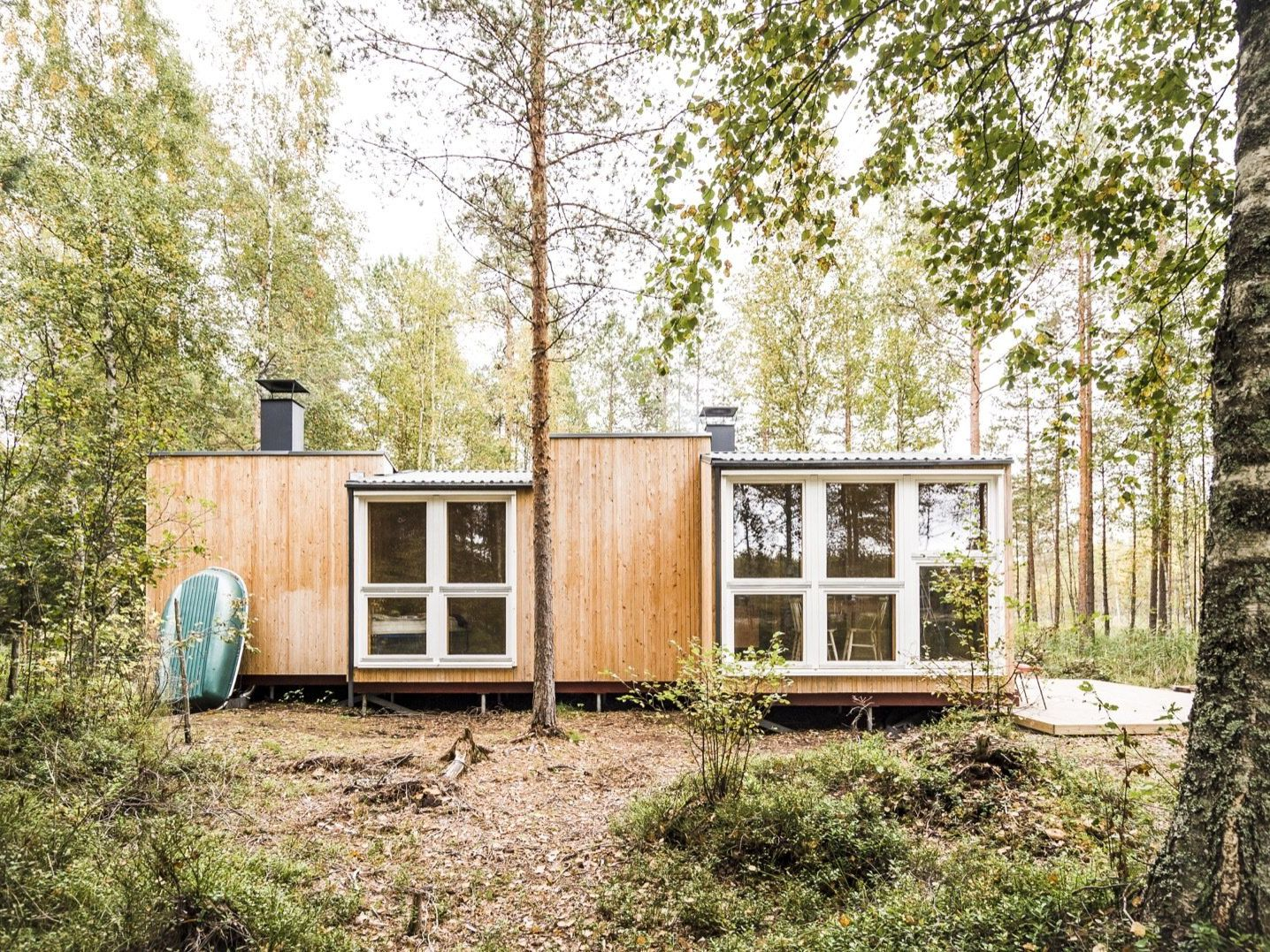 Thoughtful Tiny House in the Woods Cost Under $26K to Build