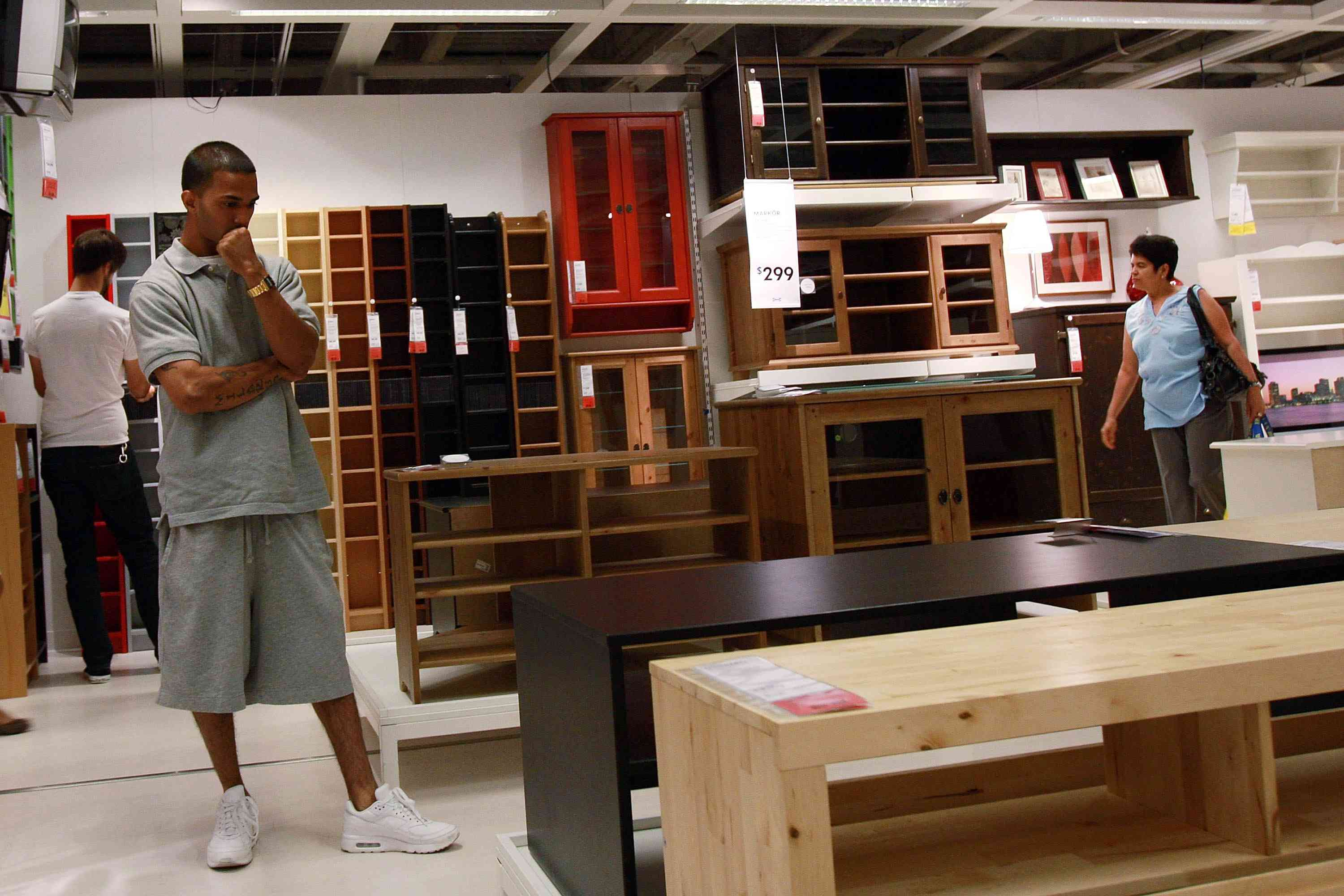 More shopping inside Ikea Red Hook