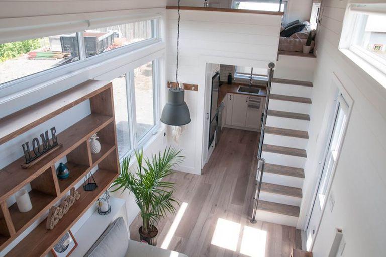 La casa pequeña de 28 'bien diseñada es una hermosa casa moderna