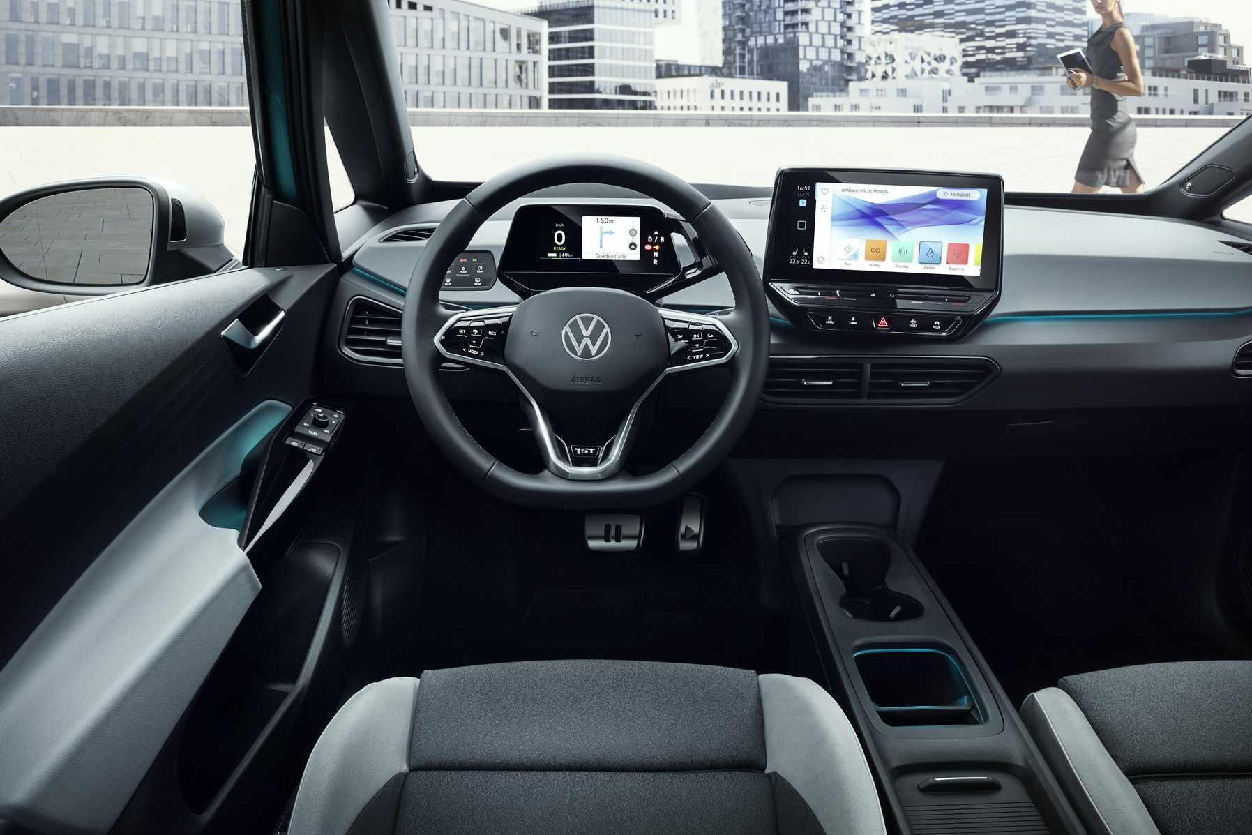 Interior of VW
