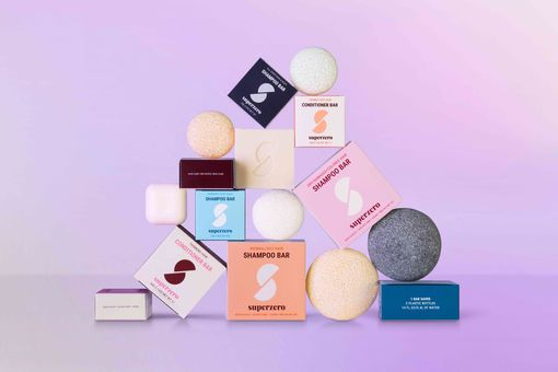Superzero shampoo bars