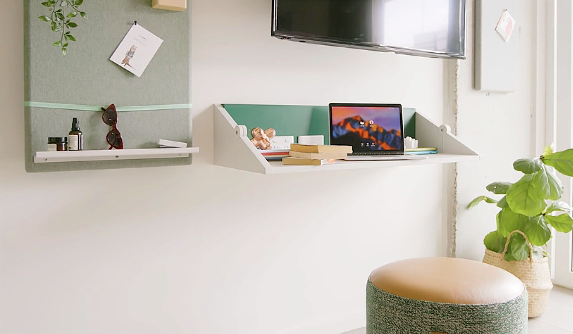 UKO stanmore coliving micro-apartment Mostaghim Associates desk