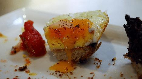 fried egg flavor photo
