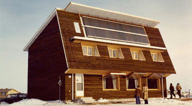 Saskatchewan conservation house then