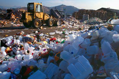 plastics recycling depot