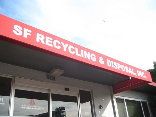 San Francisco Dump building on a sunny day