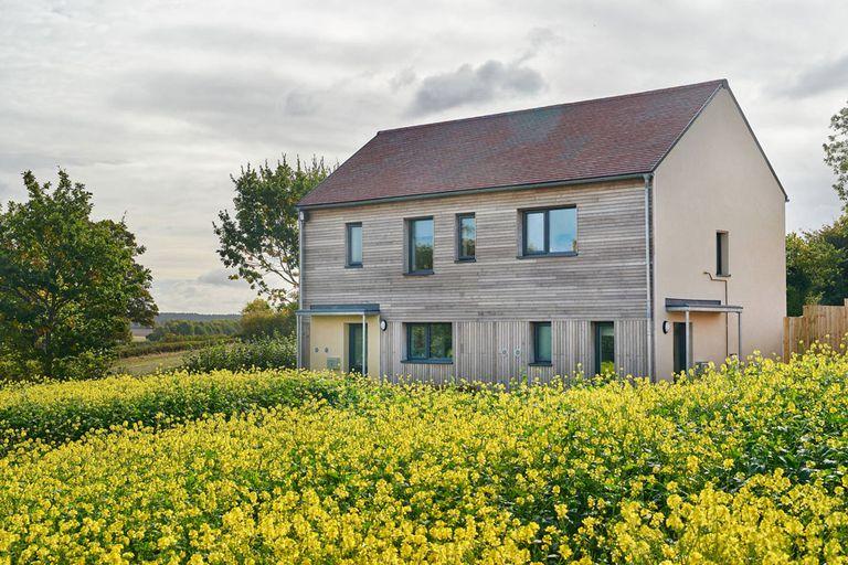 Proyecto de vivienda asequible en el Reino Unido es una demostración de simplicidad radical
