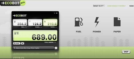 ecobot app screenshot image