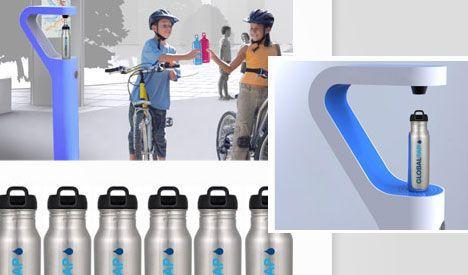 GlobalTap llega a San Francisco con el programa de recarga de botellas de agua gratis