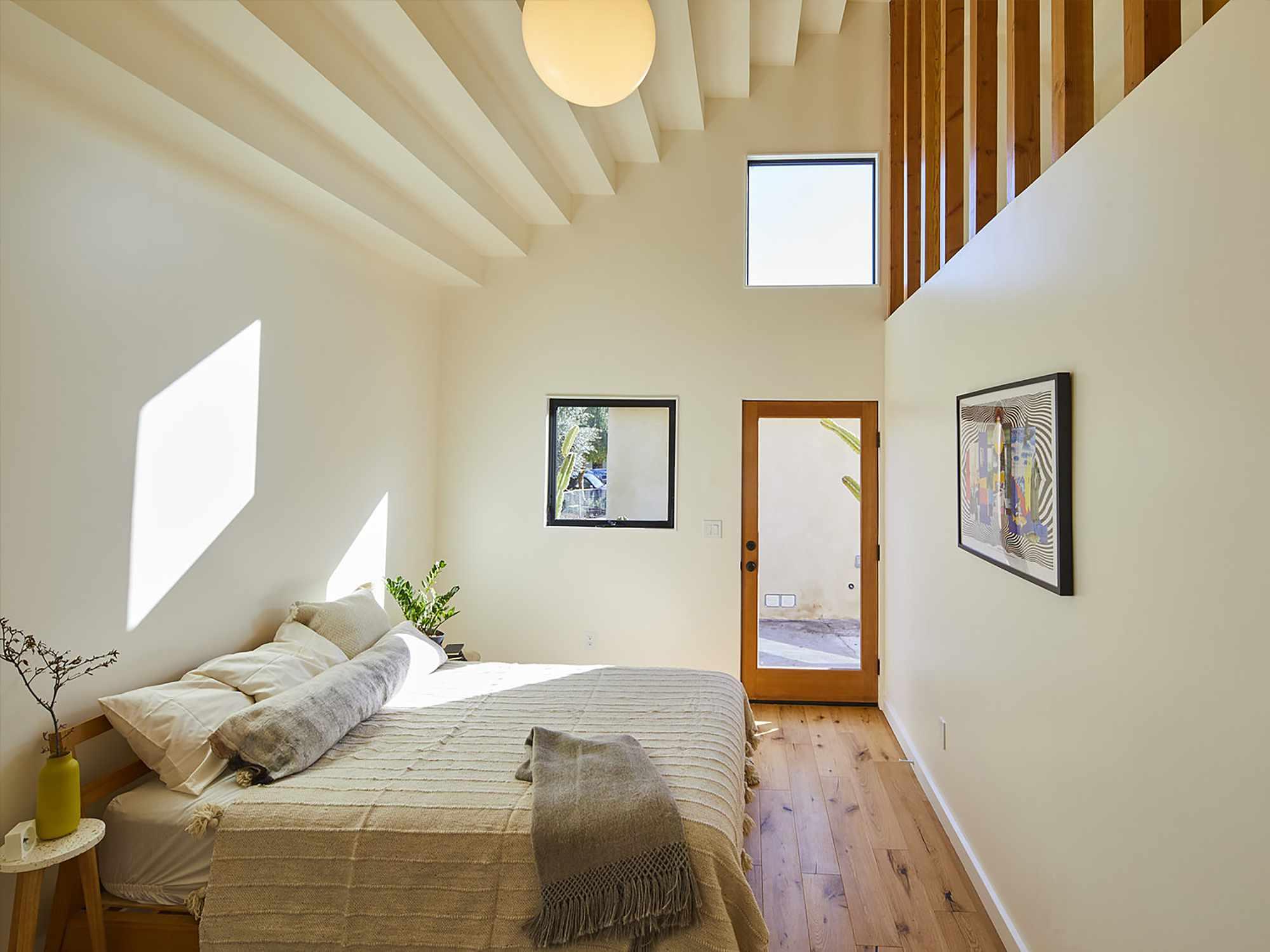 Highland Park ADU by Bunch Design bedroom