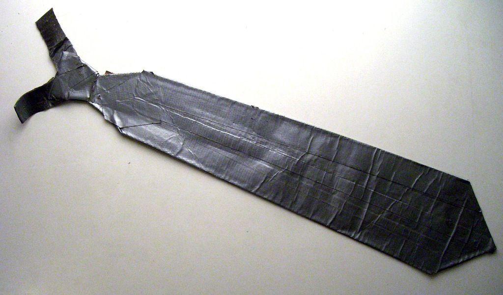 duct tape necktie