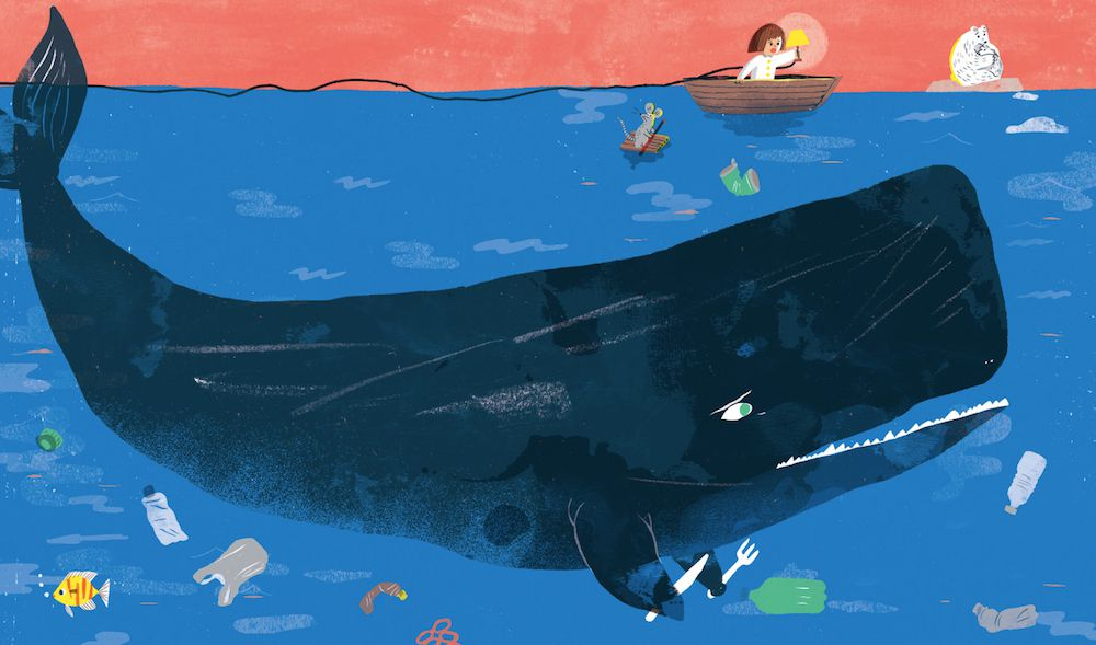 Is This My Home? illustration of whale